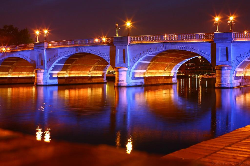 bridge architecture night - photo #33