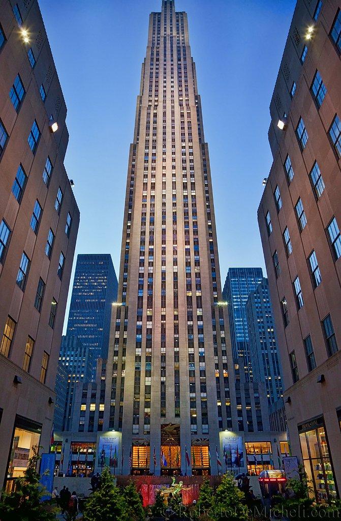 The Rock, Rockefeller Center, New York, USA Slides