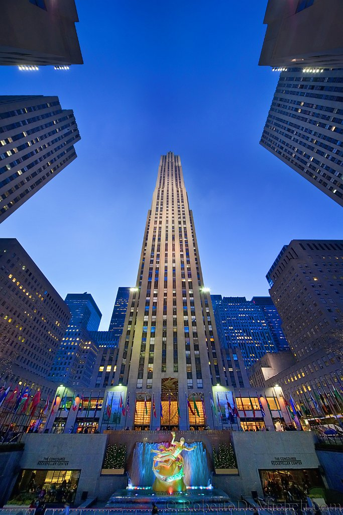 How High Is The Rockefeller Building In New York