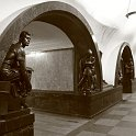 slides/IMG_0762.jpg Architecture, Perspective, Metro, Tube, station, Monument, Moscow, repetition, infinite, arch, statue, Russia A8 - The Moscow Subway