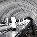 slides/IMG_1884.jpg escalator, metro, station, Moscow, light, architecture, decoration, perspective, repetition, infinite, arch, Russia A52 - Metro Escalator - Moscow