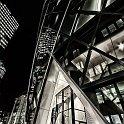 slides/IMG_6329H.jpg architecture, London, city, skyscraper, night, light, swiss, gherkin, building, detail, HDR A81 - London City by Night - The Gerkin