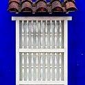 slides/IMG_7028.jpg detail, blue, colour, color, window, grate, architecture, colonial, downtown, centro, cartagena, colombia A68 - Detail in the Centro - Cartagena - Colombia