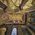 slides/IMG_7077PH.jpg salisbury, cathedral, church, Blessed Virgin Mary, architecture, nave, column, perspective, ceiling, decoration, stained, window, panorama, HDR Rib Vault Ceiling, Cathedral Church of the Blessed Virgin Mary, Salisbury