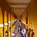 slides/IMG_7141.jpg las bovedas, market, shop, dungeon, curio, column, yellow, downtown, centro, cartagena, colombia A70 - Las Bovedas - Cartagena - Colombia