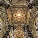 slides/IMG_7211PH.jpg salisbury, cathedral, church, Blessed Virgin Mary, architecture, nave, column, perspective, ceiling, organ, decoration, stained, window, panorama, HDR Rib Vault Ceiling, Cathedral Church of the Blessed Virgin Mary, Salisbury